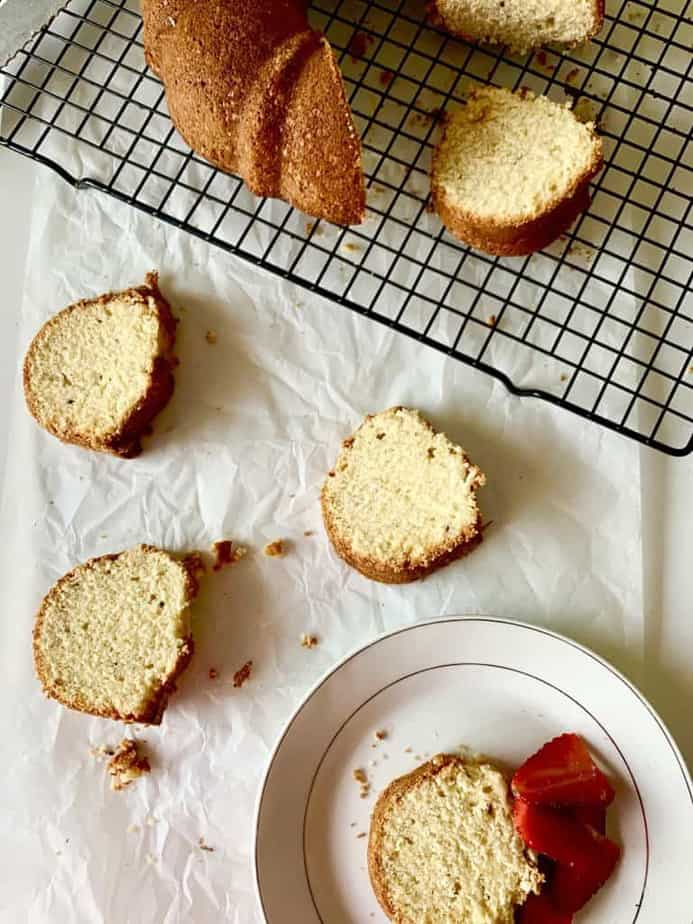 taditional pound cake