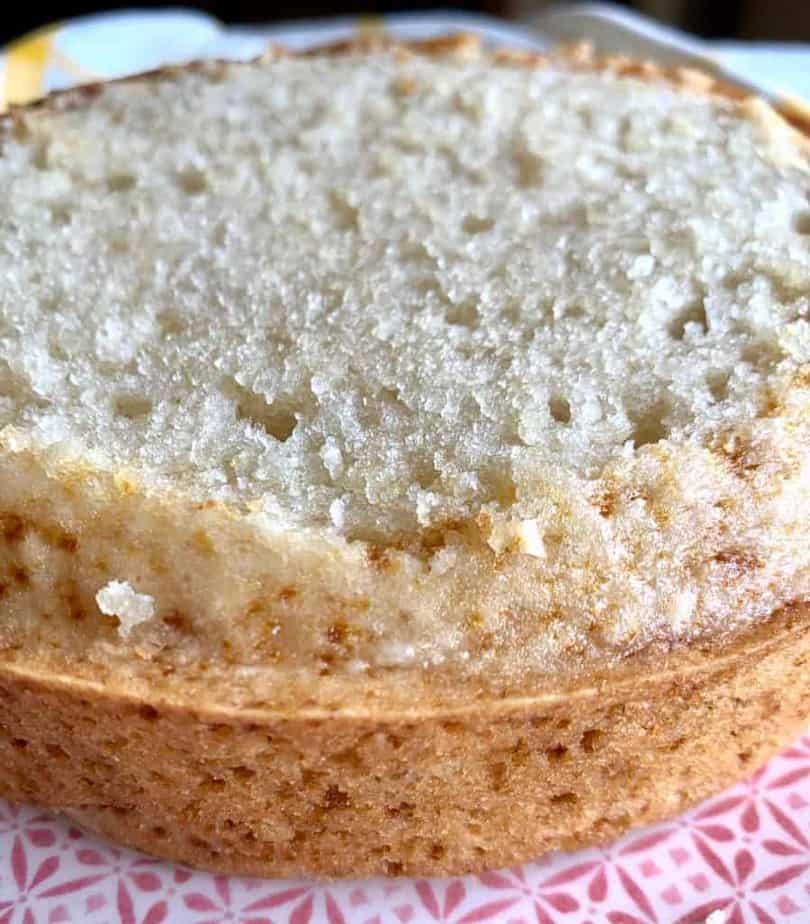 moist eggless vanilla cake