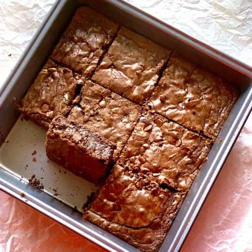moist chewy brownie recipe