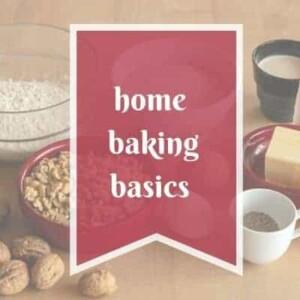 home baking basics