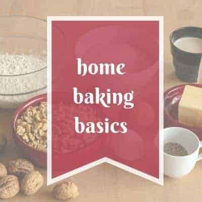 home baking basics