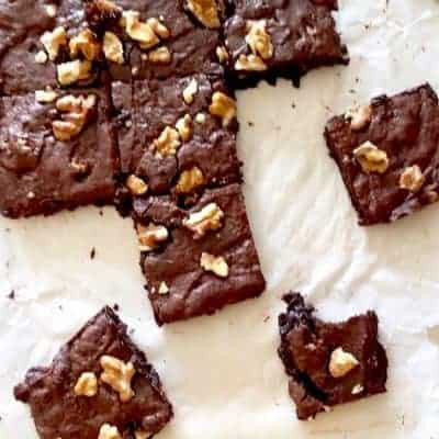 cocoa brownies slice