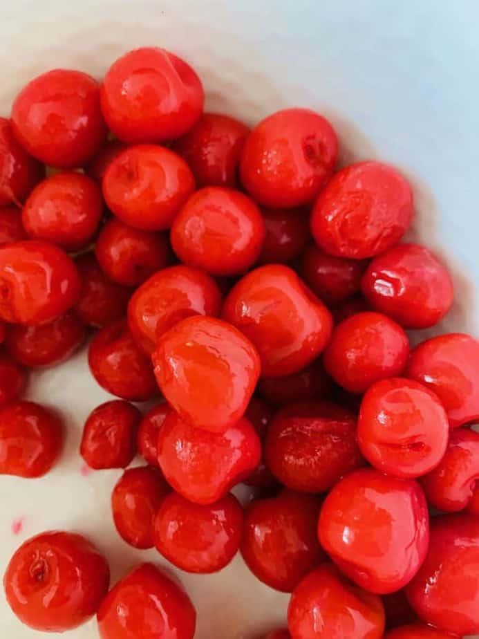tinned cherries