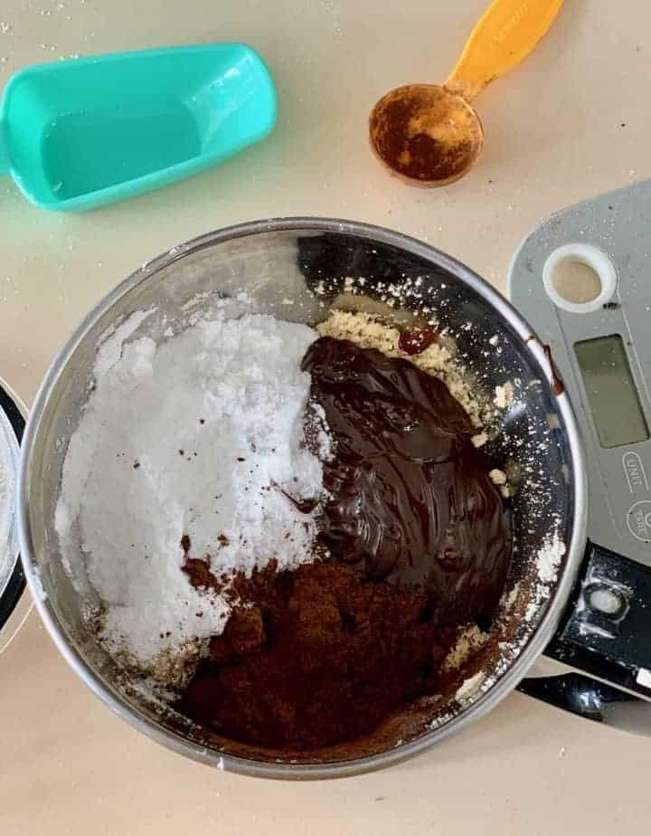 processing hazelnut choco spread